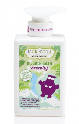 Serenity Bubble Bath, Natural Bath Time 300ML
