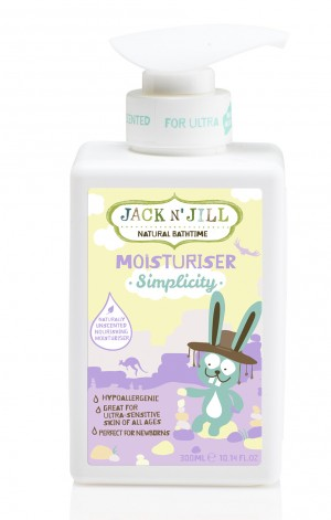 Simplicity Moisturiser, Natural Bath Time 300ML