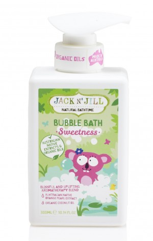 Sweetness Bubble Bath, Natural Bath Time 300ML
