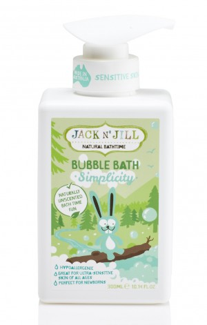Simplicity Bubble Bath, Natural Bath Time 300ML