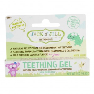 Natural Teething Gel Jack N' Jill 15g