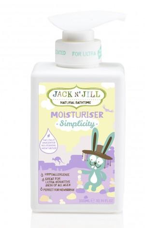 Simplicity Moisturiser, Natural Bath Time 300ML