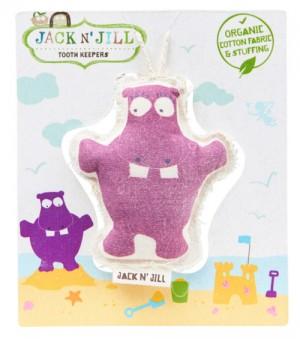 Jack N' Jill Tooth Keeper Hippo