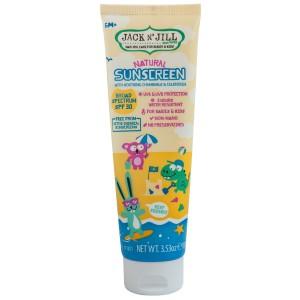 Natural Sunscreen with Chamomile & Calendula SPF30