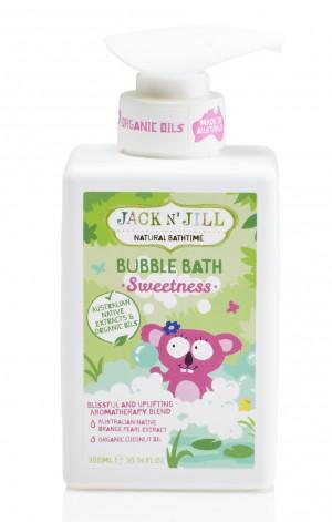 Sweetness Bubble Bath, Natural Bath Time 300ML